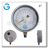 6 Stainless steel brass internal bottom connection test precision gauges